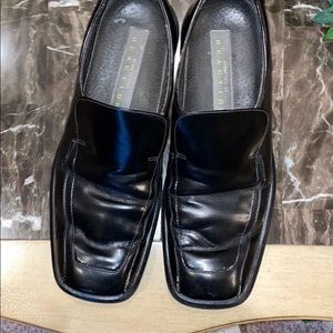 Black Kenneth Cole Reaction Slip on Shoes